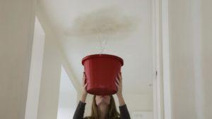 Причина залива квартир и помещений